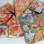 Set Of 5 Note Books 6 X4 -..